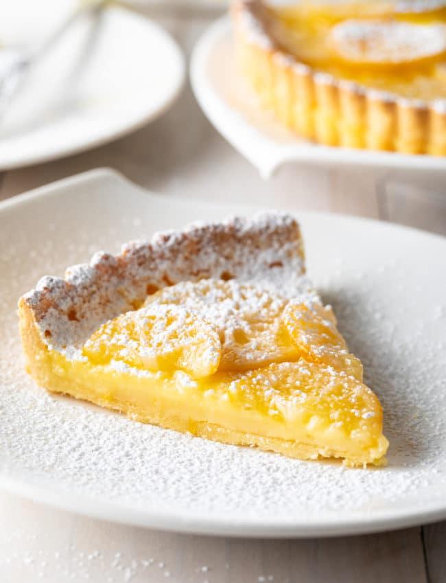 Homemade Lemon Tart Recipe Ever #ASpicyPerspective #lemon #tart #pie #spring #summer #holiday #easter #mothersday