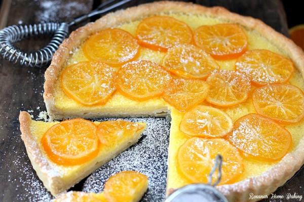 Meyer Lemon Tart Recipe