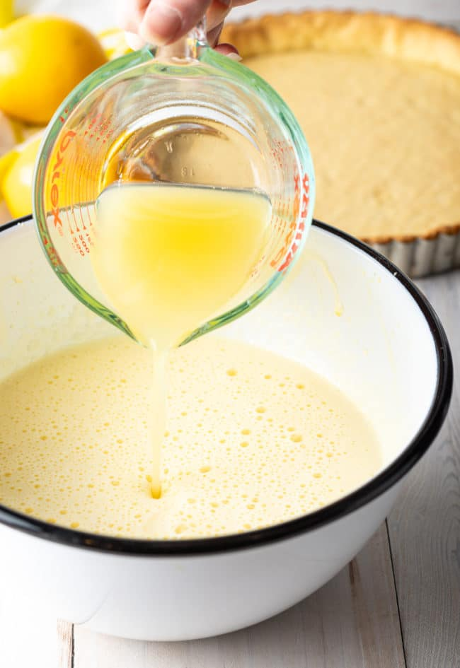 Lemon Tart Curd Recipe #ASpicyPerspective #lemon #spring #tart #pie #easter #mothersday
