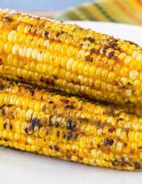 Kimchi Grilled Corn on the Cob | ASpicyPerspective.com #grilling #summer #corn #grilledcorn