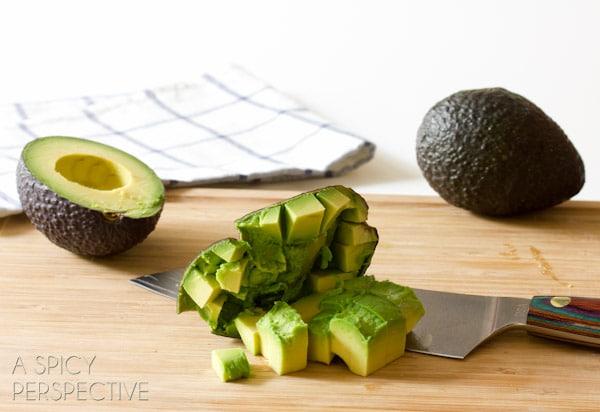 Chopped Avocado