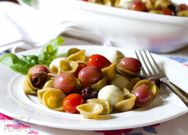 Orecchiette with Roasted Grapes and Tomatoes - A Spicy ...