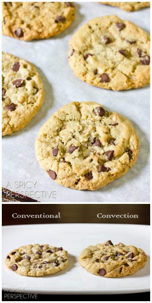 The Best Chocolate Chip Cookie Recipe EVER on ASpicyPerspective.com #cookies #chocolatechipcookies