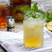 """The Champ"" Bourbon Cocktail - Whiskey Sour 
