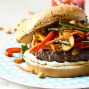 Szechuan Beef Burgers