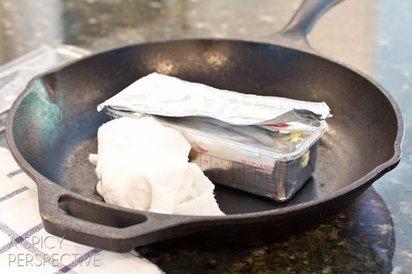 How to Season a Cast Iron Skillet #ASpicyPerspective #CastIronSkillet #HowtoCleanaCastIronSkillet #HowtoSeasonaCastIronSkillet #HowTo #DIY #Kitchen