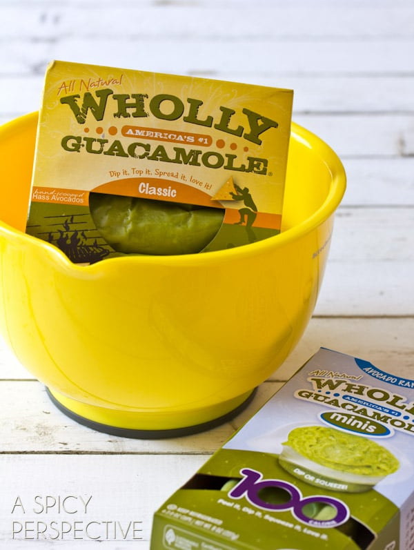 Wholly Guacamole | ASpicyPerspective.com #avocado #breakfast #guacamole #savory