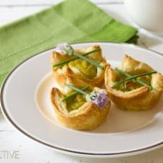 Guacamole mini quiche