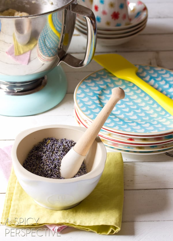Baking with Lavender