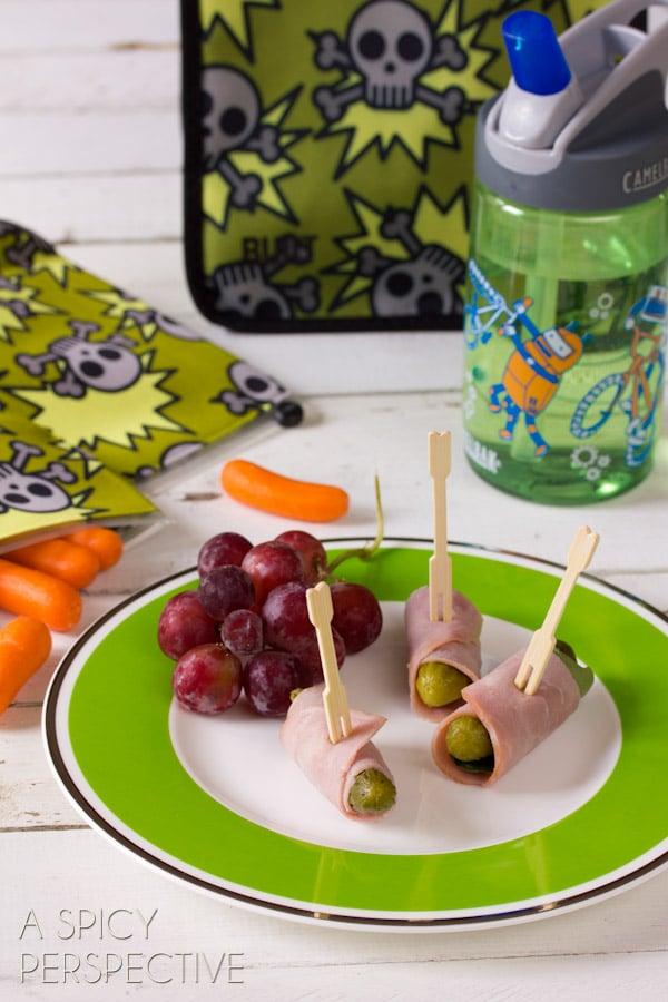 Simple Healthy Lunch Ideas | ASpicyPerspective.com #backtoschool #lunch #schoollunch #lunchbox