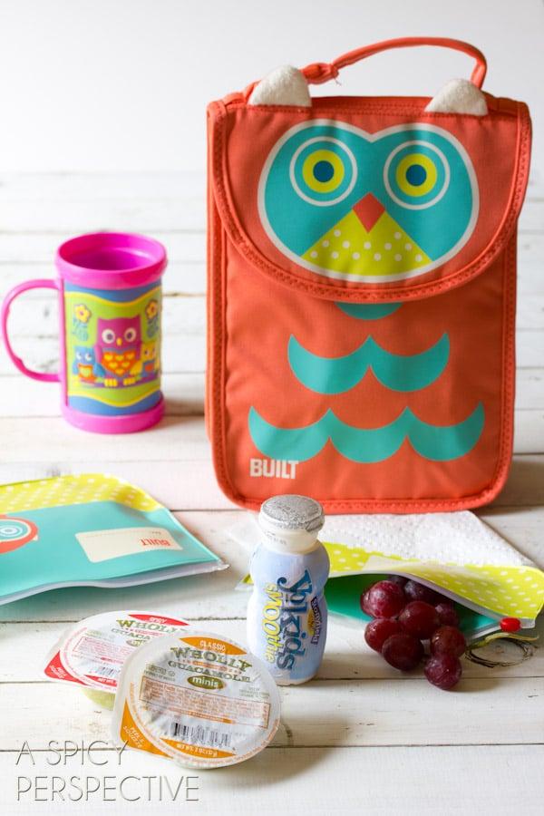 Freezer Favorites - Healthy Lunch Ideas | ASpicyPerspective.com #backtoschool #lunch #schoollunch #lunchbox