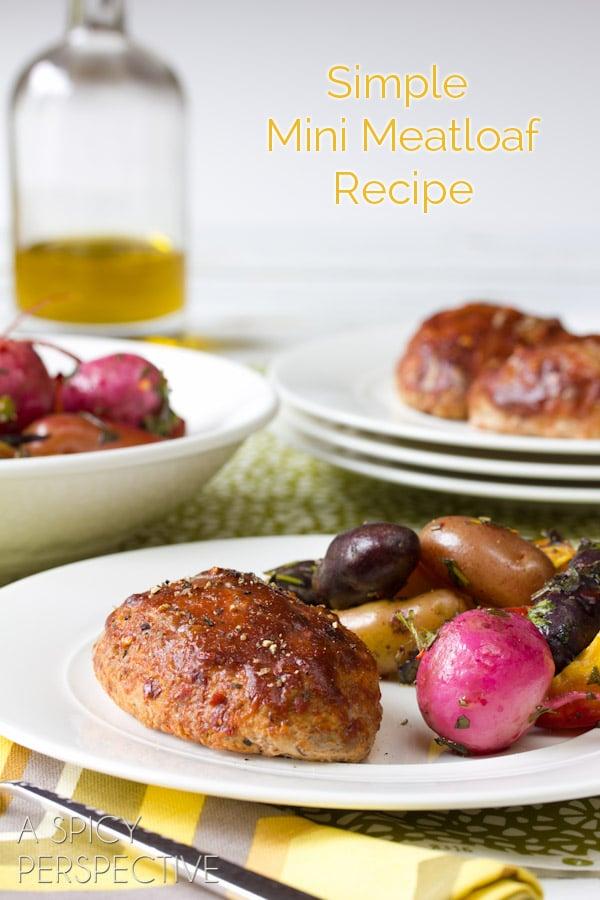 Best Meatloaf Recipe... ever!   ASpicyPerspective.com #meatloaf #recipe #dinner
