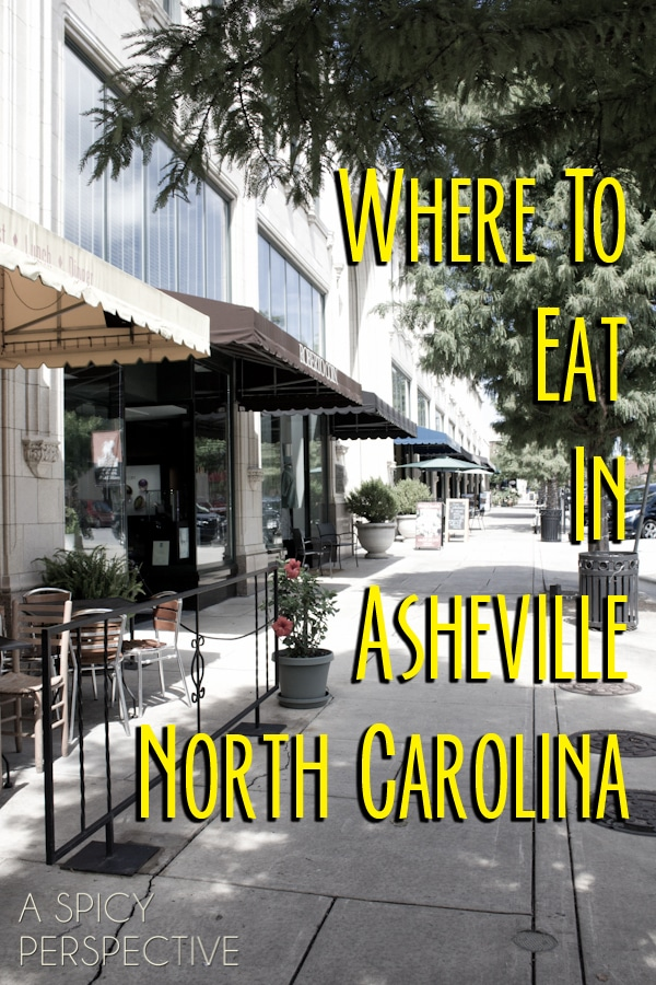 Where to Eat in Asheville, North Carolina ASpicyPerspective.com #travel #traveltips #asheville #avl