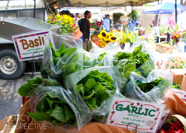 Perserving Farmstand Produce | ASpicyPerspective.com #howto #foodsaver #farmersmarket