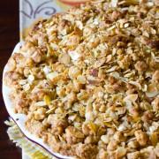 Dutch Apple Pie   ASpicyPerspective.com #apple #applepie #fall #recipe