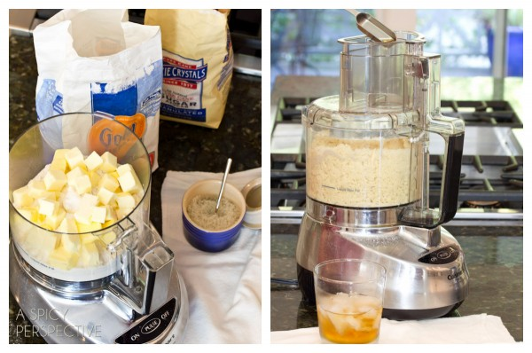 Making Dutch Apple Pie   ASpicyPerspective.com #apple #applepie #fall #recipe