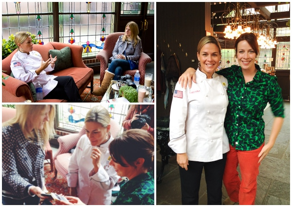 Cat Cora -Kohler Food & Wine Experience 2013 in Kohler, Wisconsin #travel #food #wine