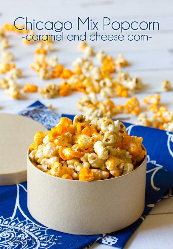 Copycat Garrett's Popcorn - Caramel Popcorn Recipe