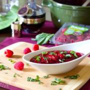 Raspberry Cranberry Sauce
