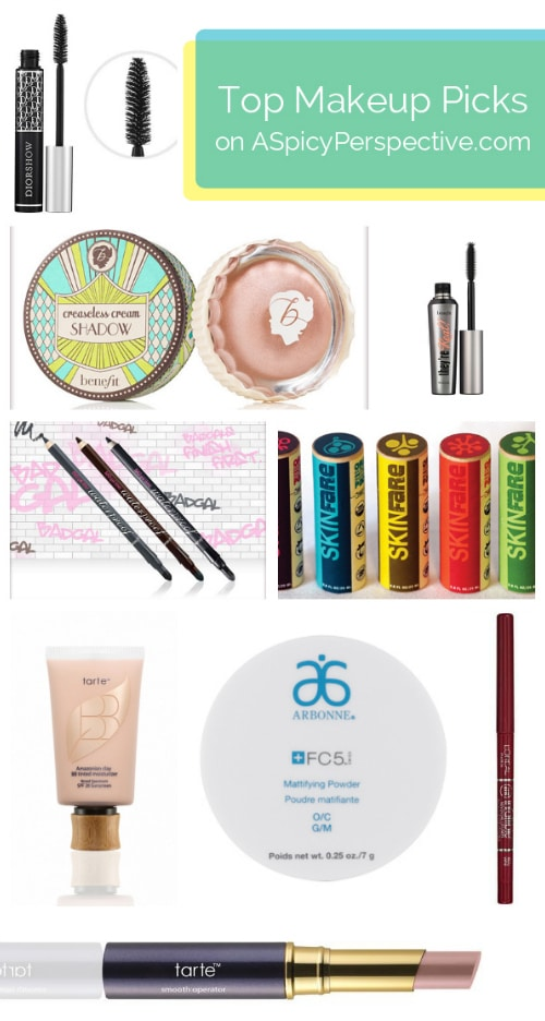 Top #Cosmetic Picks on ASpicyPerspective.com #stockingstuffers #products #holidays