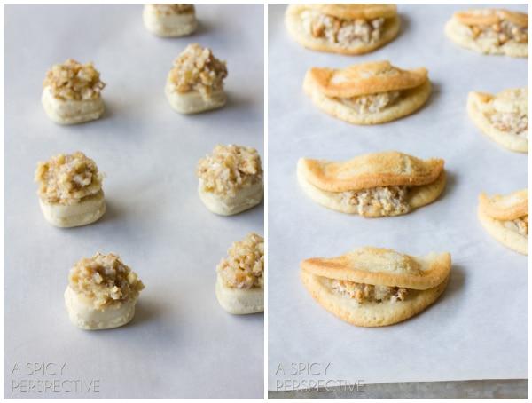 Quickie Kifli Cookies - Easy Sugar Cookie Recipe