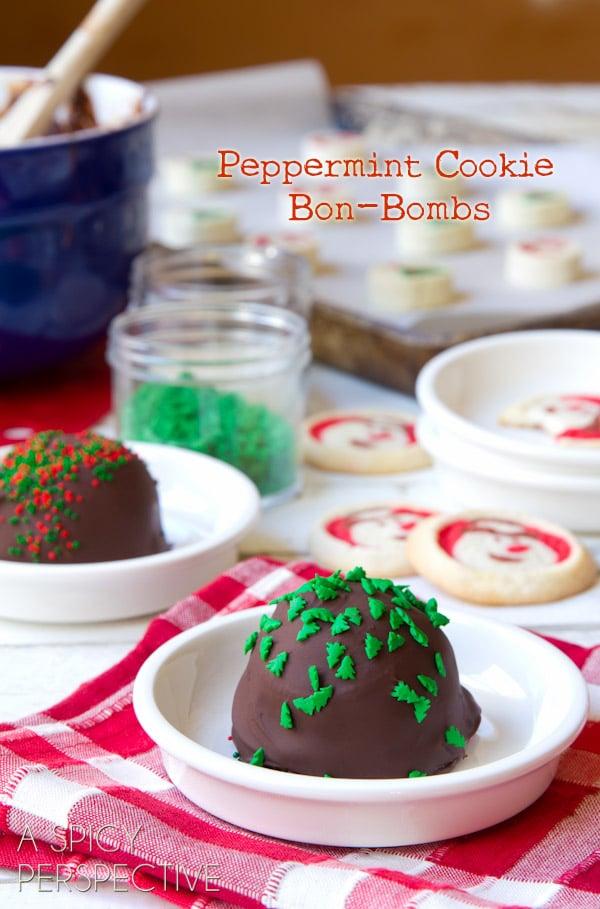 Recipe for chocolate bon bon cookies