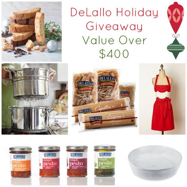 Link over to enter @DeLalloFoods Holiday #Giveaway - Celebrate the #SpiritofNatale this #holiday season!