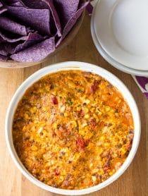 Creamy Fire Roasted Corn Dip Recipe