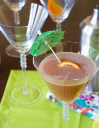Haleakala Holiday - Malibu Rum Cocktail #holiday #newyearseve #cocktails
