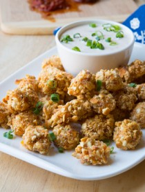 Baked Cheesy Pretzel Poppers
