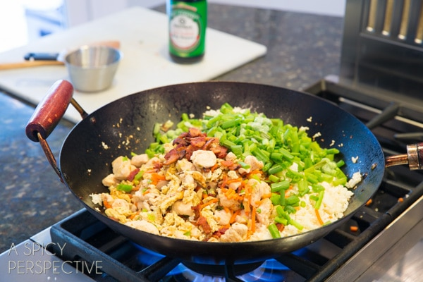 Paleo cauliflower fried rice recipe a spicy perspective how to make cauliflower fried rice paleo grainfree healthy ccuart Images