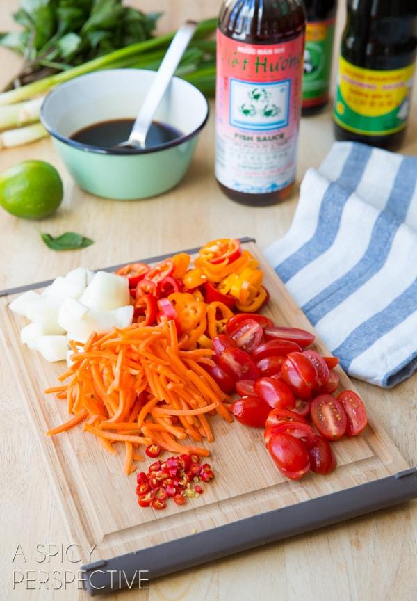 How to Make Drunken Noodles - Pad Kee Mao #Thai #Recipe #Noodles #Wok