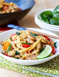 Pad Kee Mao Recipe (Drunken Noodles) #ASpicyPerspective #Thai #Recipe #Noodles #Wok
