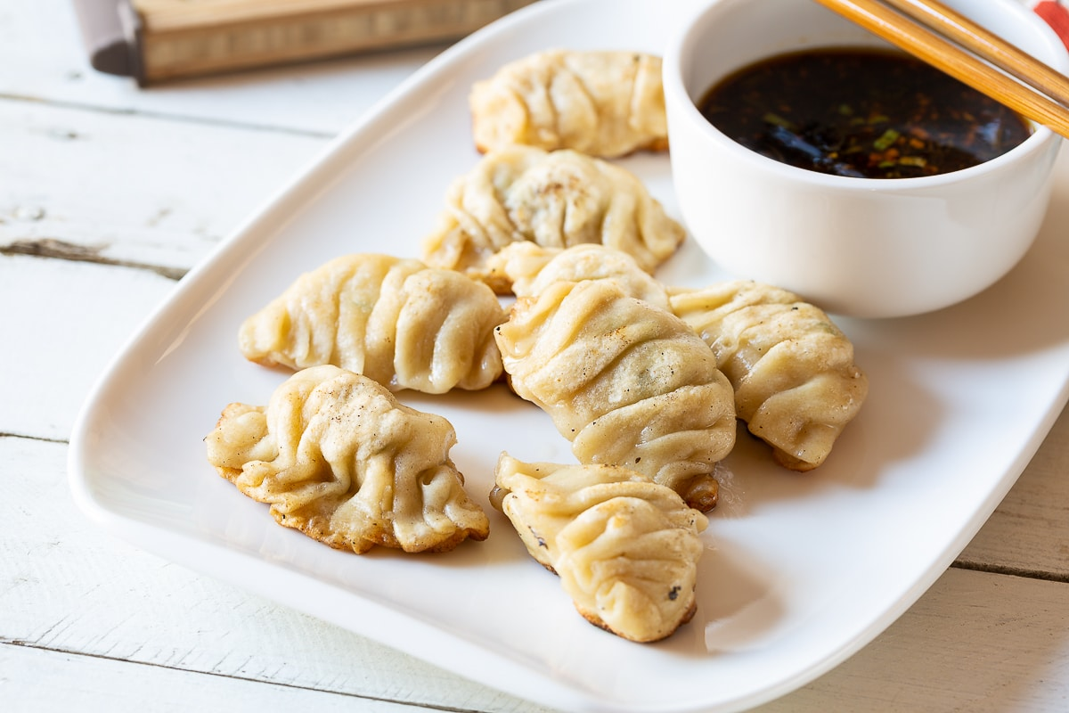 Potstickers Chinese Dumplings Recipe A Spicy Perspective