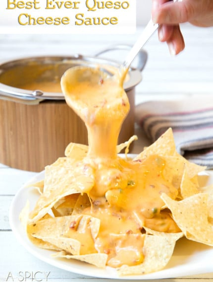 The BEST EVER Nacho Cheese Sauce (Queso) #cheese #cheesesauce #queso #cheesedip #nachos
