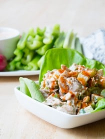 Paleo Ranch Dressing and Buffalo Chicken Salad