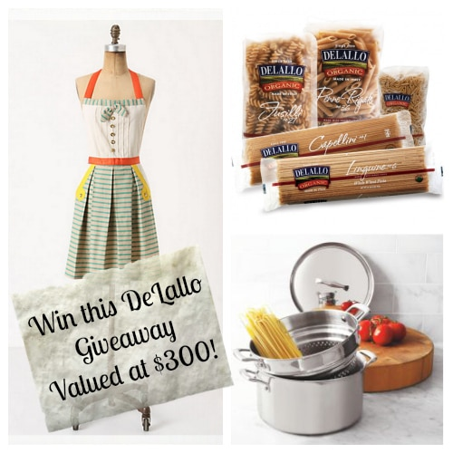 Win this Awesome @DeLalloFoods #Giveaway valued at $300! #prize #entertowin #delalloww