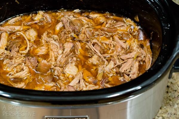 Crockpot Carnitas Recipe #carnitas #tacos #mexican #slowcooker #crockpot