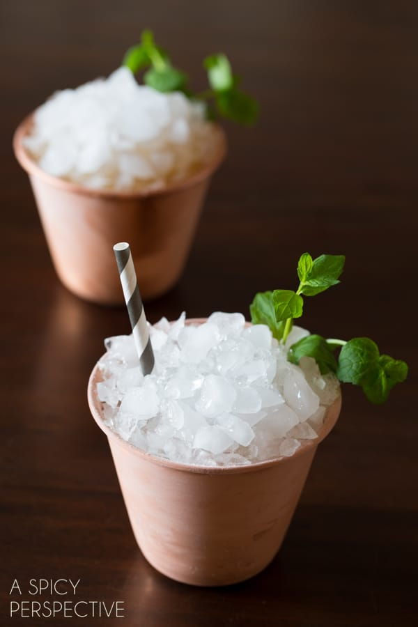 Mint Julep Recipe #mint #cocktails