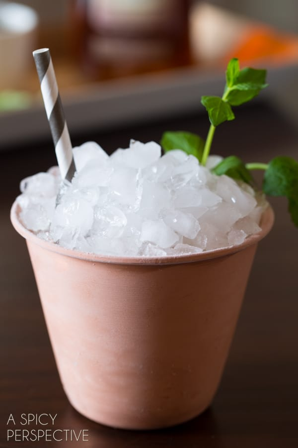 Awesome Mint Julep Recipe #mint #cocktails