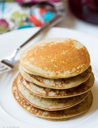 Perfect Paleo Pancakes - Easy 3-Ingredient #Paleo #Pancakes! #Breakfast