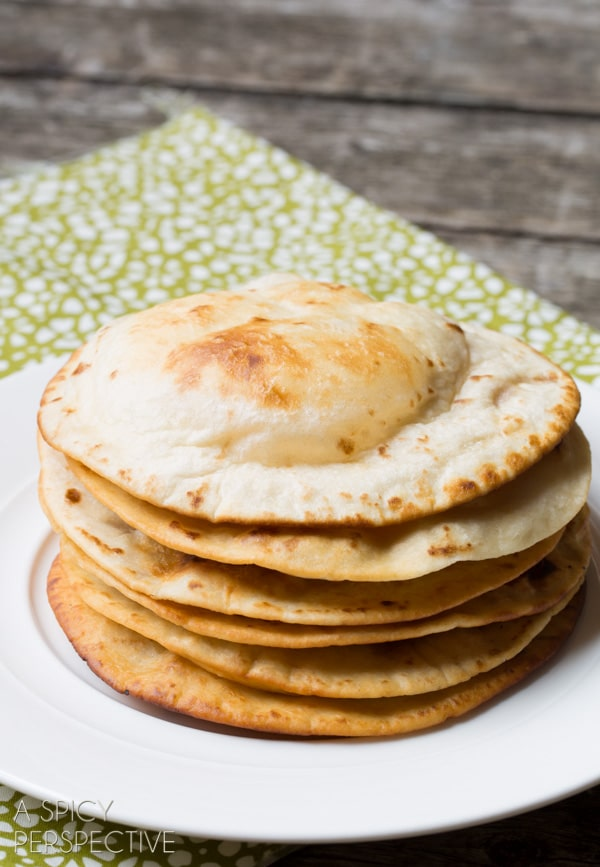 Easy Puffy Tortillas #howto #mexican #mexicanfood