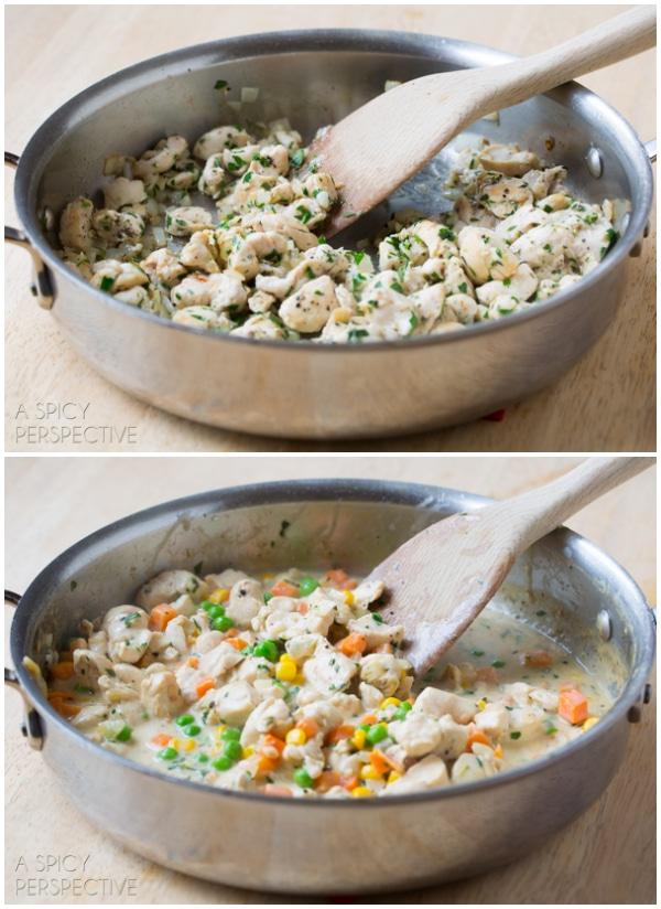 Make The BEST Chicken Pot Pie Recipe Ever! #chicken #potpie #recipe #giveameal