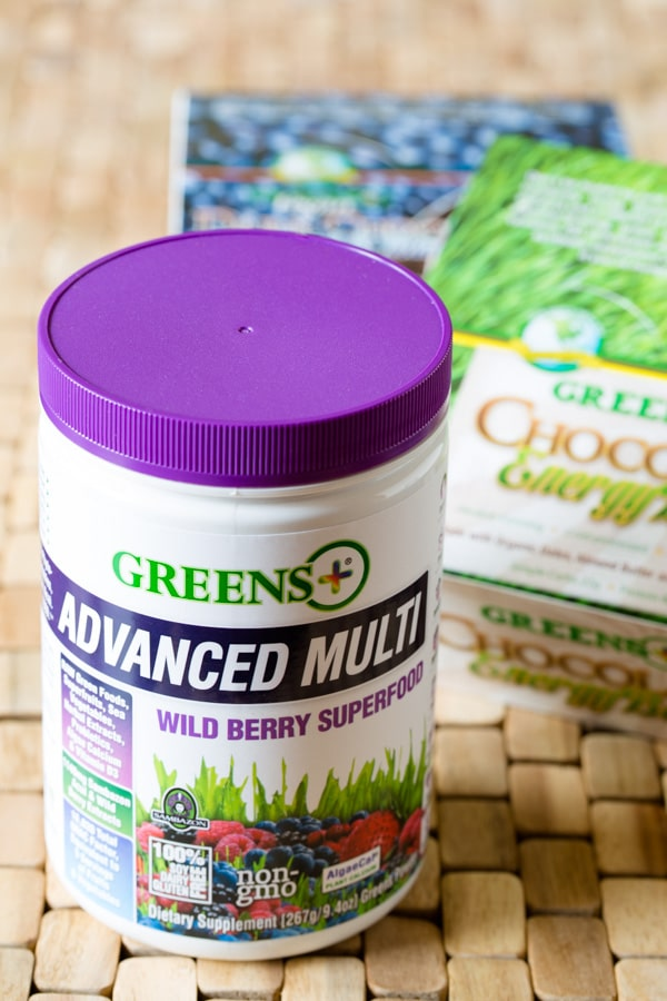 Making Berry Smoothie Recipe with Yogurt and #GreensPlus! #smoothie #breakfast #healthy #greens