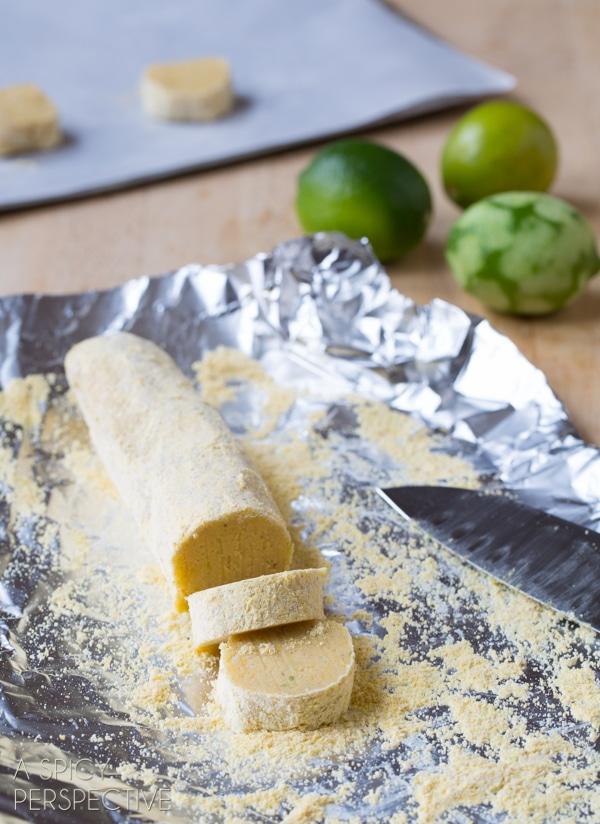 Simple Cornmeal Cookies (Best Sugar Cookie Recipe Variation!) #cookies #corn #recipe