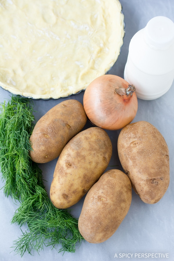 Making Irish Potato Pie Recipe #saintpaddysday