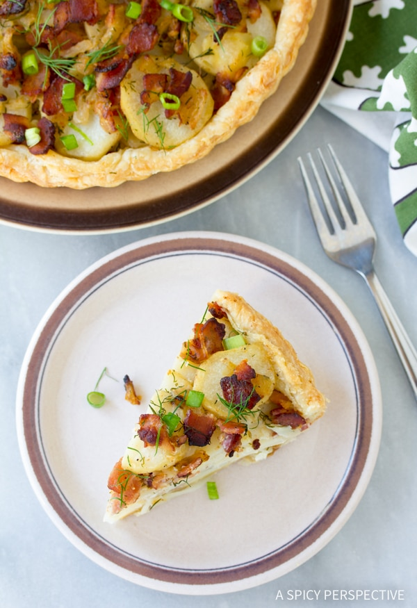 Perfect Irish Potato Pie Recipe #saintpaddysday