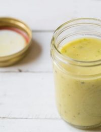 Garlic Lime Vinaigrette
