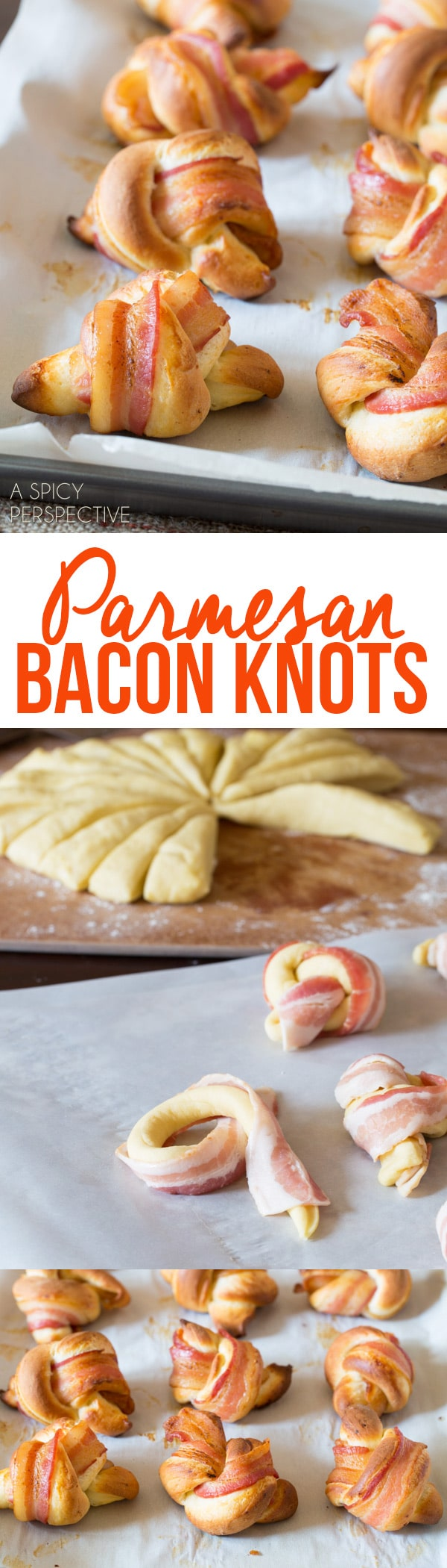 Parmesan Bacon Knots Recipe