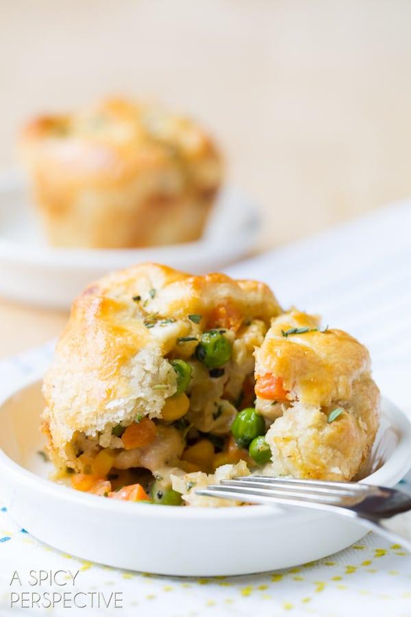 BEST Pot Pie Recipe Ever! #chicken #potpie #recipe #giveameal